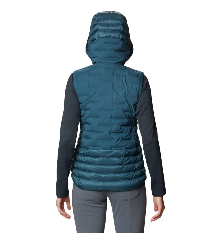 Super/DS™ Hybrid Vest | 324 | XL Women's Super/DS™ Stretchdown Hybrid Vest, Icelandic, back