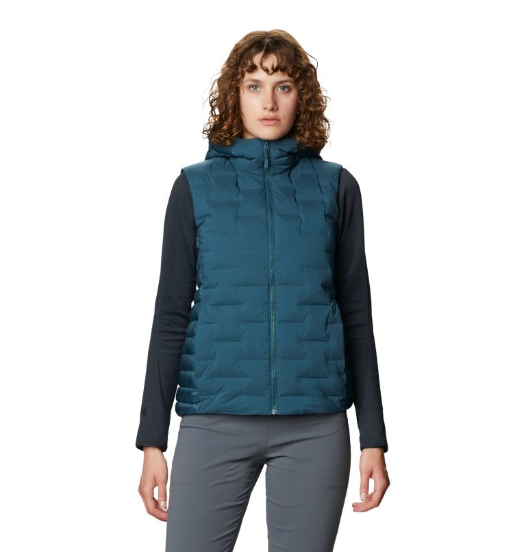 Super/DS™ Hybrid Vest | 324 | L Women's Super/DS™ Stretchdown Hybrid Vest, Icelandic, front