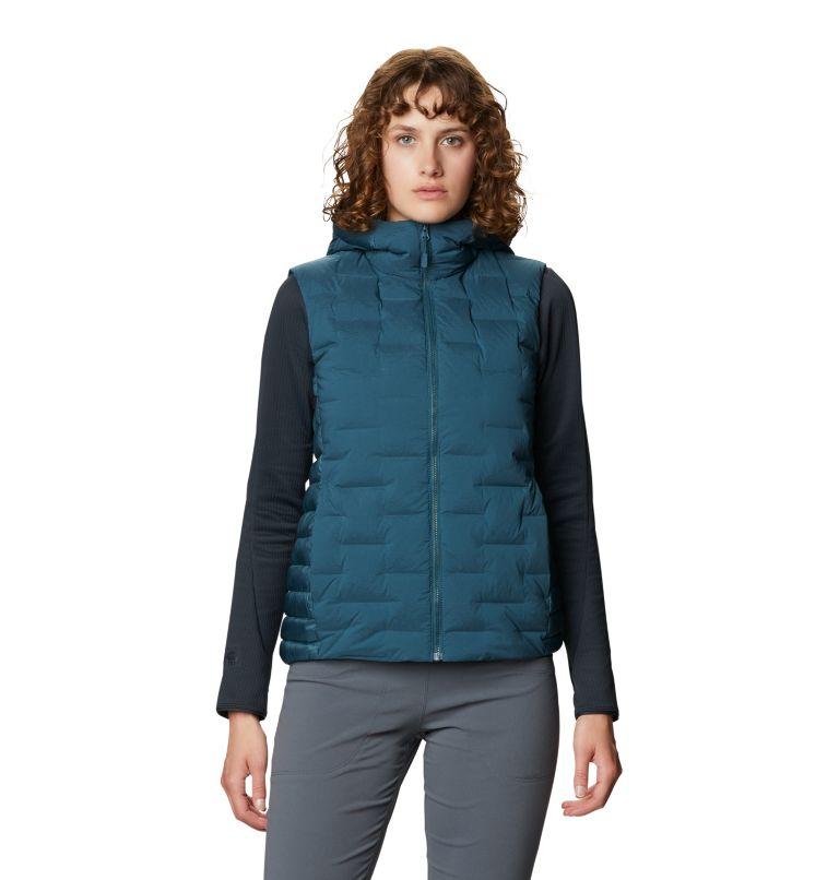Super/DS™ Hybrid Vest | 324 | XL Women's Super/DS™ Stretchdown Hybrid Vest, Icelandic, front