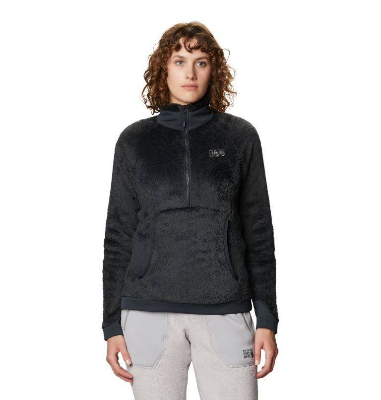Monkey Fleece™ Pullover | 004 | XS Women's Polartec® High Loft™ Pullover, Dark Storm, front