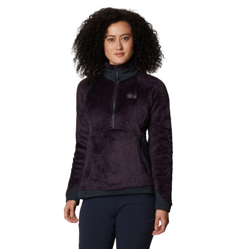 Monkey Fleece™ Pullover | 599 | L Women's Polartec® High Loft™ Pullover, Blurple, front