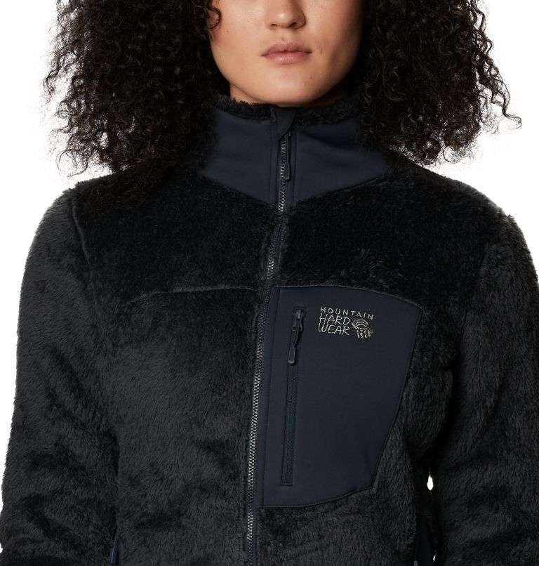 Monkey Fleece™ Jacket | 004 | L Women's Polartec® High Loft™ Jacket, Dark Storm, a2