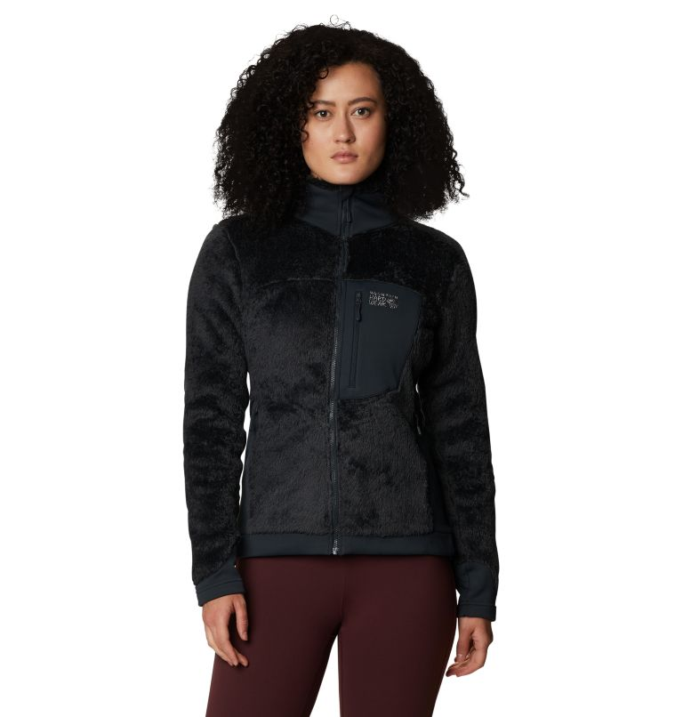 Monkey Fleece™ Jacket | 004 | L Women's Polartec® High Loft™ Jacket, Dark Storm, front
