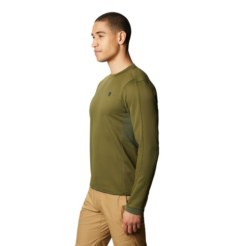 Cruxland™ Long Sleeve Shirt | 304 | L Men's Cruxland™ Long Sleeve Shirt, Dark Army, a1