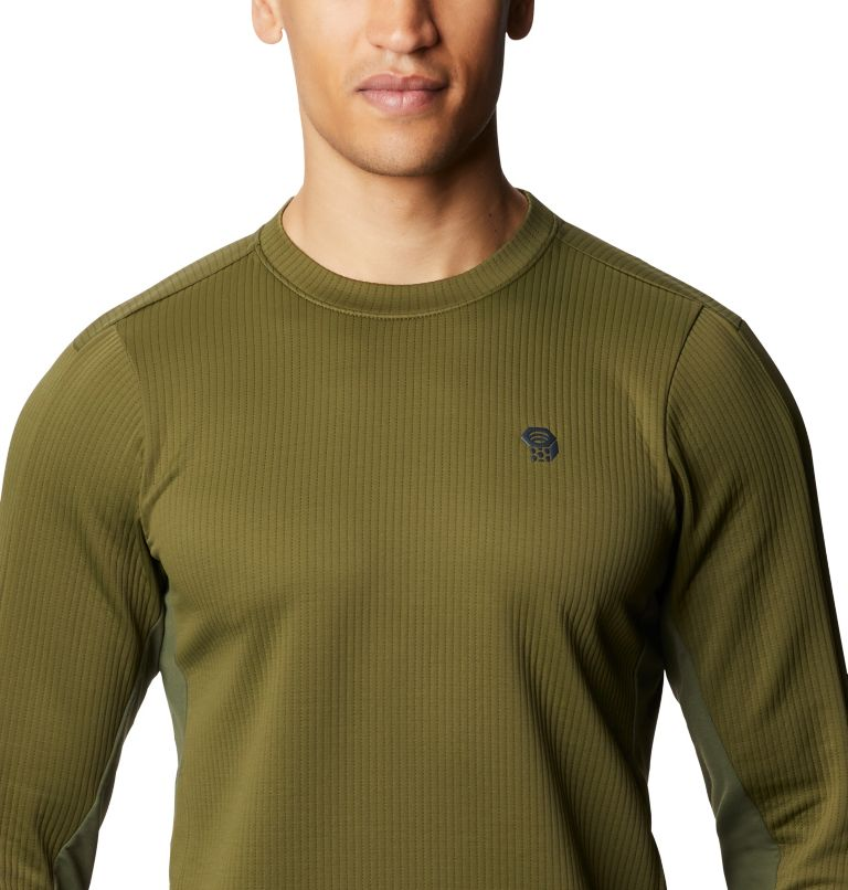 Cruxland™ Long Sleeve Shirt | 304 | L Men's Cruxland™ Long Sleeve Shirt, Dark Army, a2