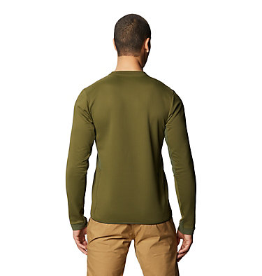 Men's Cruxland™ Long Sleeve Shirt Cruxland™ Long Sleeve Shirt | 004 | L, Dark Army, back