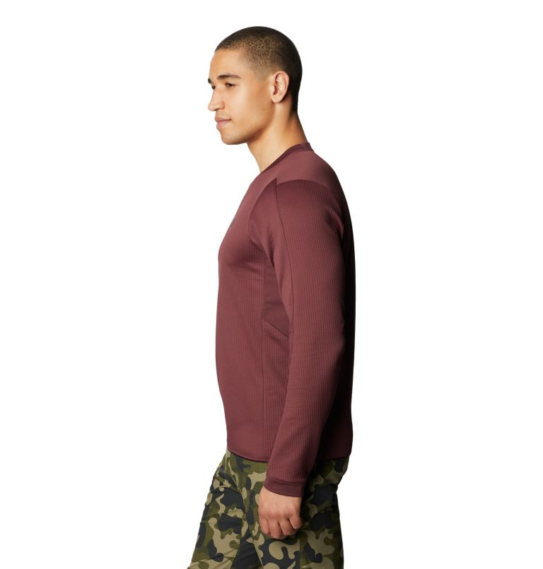 Cruxland™ Long Sleeve Shirt | 629 | M Men's Cruxland™ Long Sleeve Shirt, Washed Raisin, a1