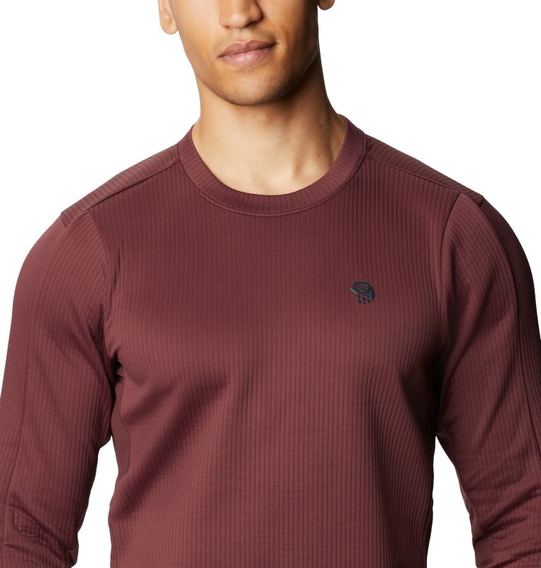 Cruxland™ Long Sleeve Shirt | 629 | M Men's Cruxland™ Long Sleeve Shirt, Washed Raisin, a2
