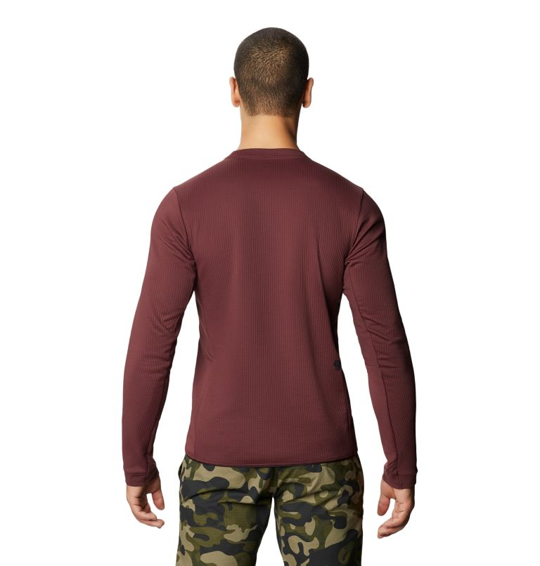 Cruxland™ Long Sleeve Shirt | 629 | M Men's Cruxland™ Long Sleeve Shirt, Washed Raisin, back
