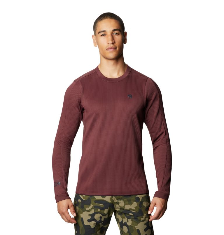 Cruxland™ Long Sleeve Shirt | 629 | M Men's Cruxland™ Long Sleeve Shirt, Washed Raisin, front