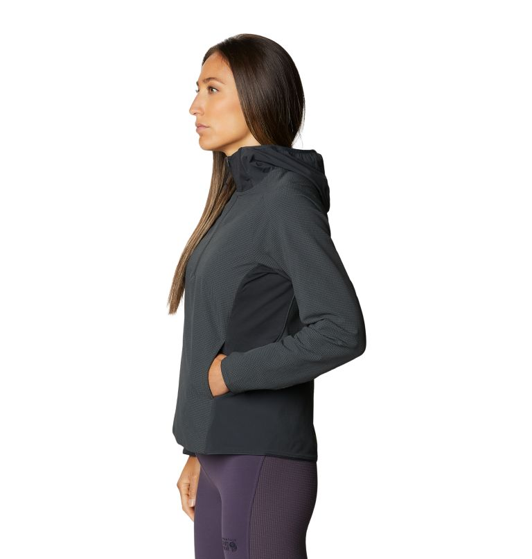 Rock Intelligence™ Hybrid Hoody | 004 | M Women's Rock Intelligence™ Hybrid Hoody, Dark Storm, a1