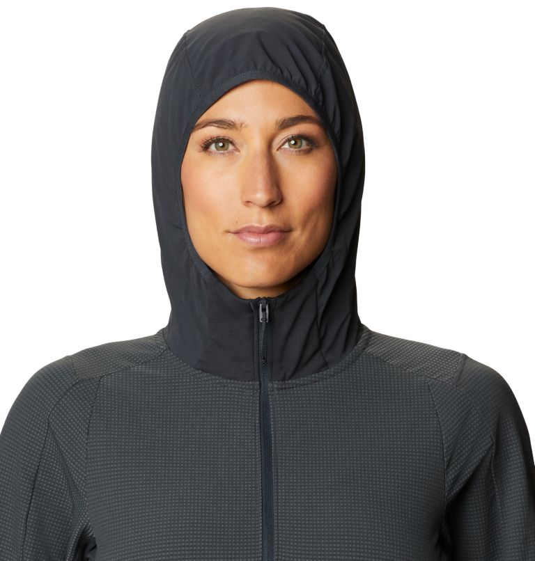 Rock Intelligence™ Hybrid Hoody | 004 | M Women's Rock Intelligence™ Hybrid Hoody, Dark Storm, a2