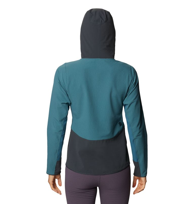 Rock Intelligence™ Hybrid Hoody | 324 | M Women's Rock Intelligence™ Hybrid Hoody, Icelandic, back