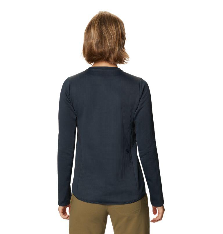 Cruxland™ Long Sleeve Shirt | 004 | S Women's Cruxland™ Long Sleeve Shirt, Dark Storm, back