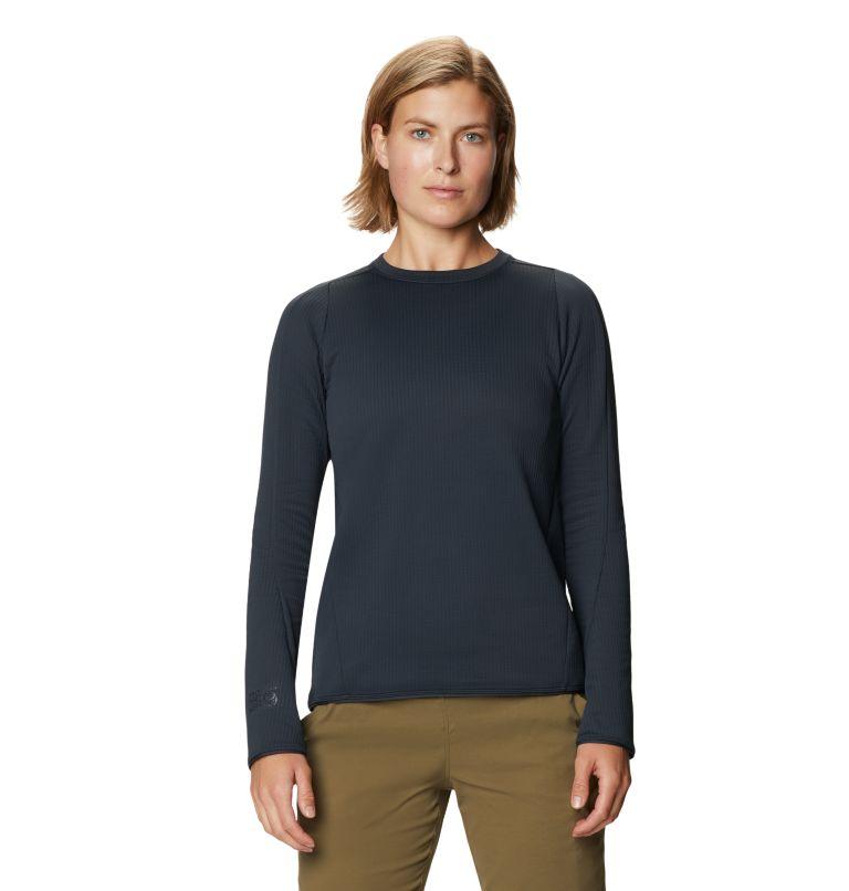 Cruxland™ Long Sleeve Shirt | 004 | S Women's Cruxland™ Long Sleeve Shirt, Dark Storm, front