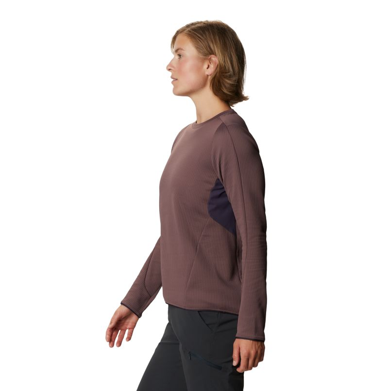 Cruxland™ Long Sleeve Shirt | 249 | L Women's Cruxland™ Long Sleeve Shirt, Warm Ash, a1