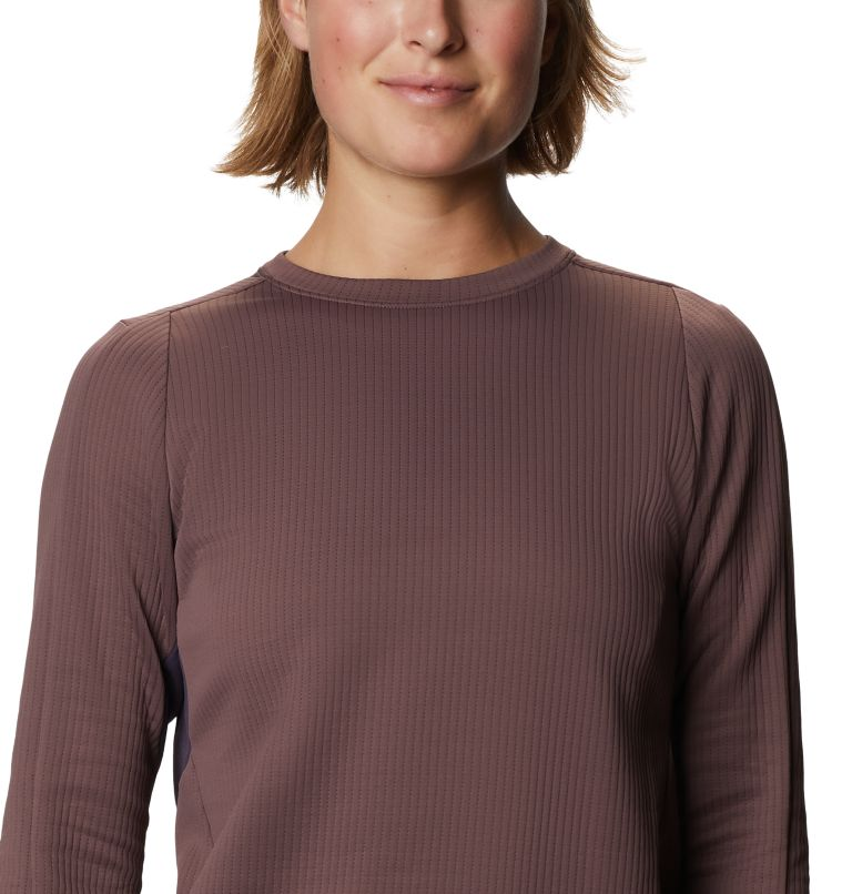 Cruxland™ Long Sleeve Shirt | 249 | L Women's Cruxland™ Long Sleeve Shirt, Warm Ash, a2