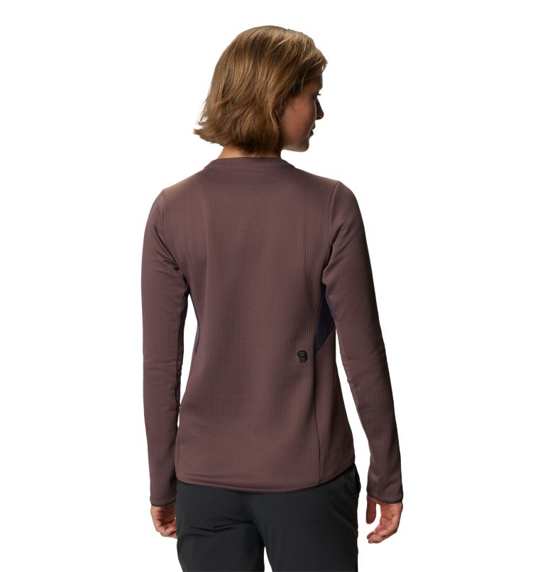 Cruxland™ Long Sleeve Shirt | 249 | L Women's Cruxland™ Long Sleeve Shirt, Warm Ash, back