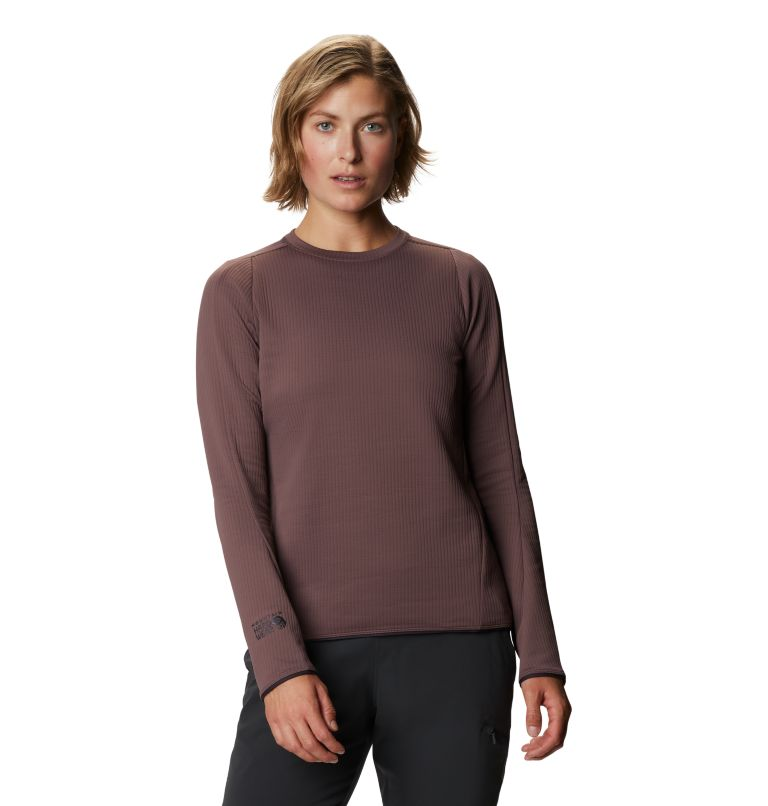 Cruxland™ Long Sleeve Shirt | 249 | L Women's Cruxland™ Long Sleeve Shirt, Warm Ash, front