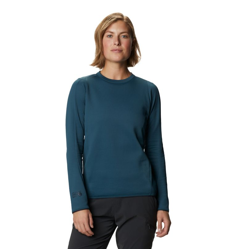 Cruxland™ Long Sleeve Shirt | 324 | L Chandail à manches longues Cruxland™ Femme, Icelandic, front