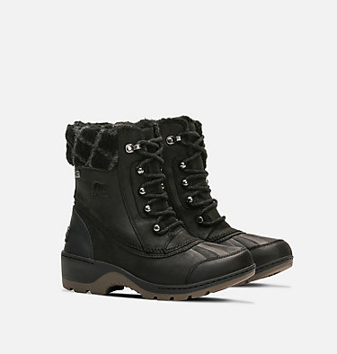 Women's Whistler™ Mid Boot WHISTLER™ MID | 224 | 6, Black, Natural, 3/4 front