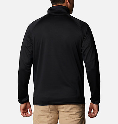 Men's Single Canyon™ Half Zip Fleece Jacket Single Canyon™ Half Zip Fleece | 010 | L, Black, back