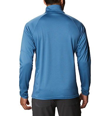 Men's Single Canyon™ Half Zip Fleece Jacket Single Canyon™ Half Zip Fleece | 010 | L, Scout Blue, back