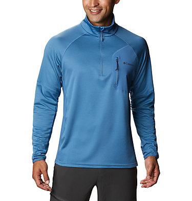 Men's Single Canyon™ Half Zip Fleece Jacket Single Canyon™ Half Zip Fleece | 010 | L, Scout Blue, front