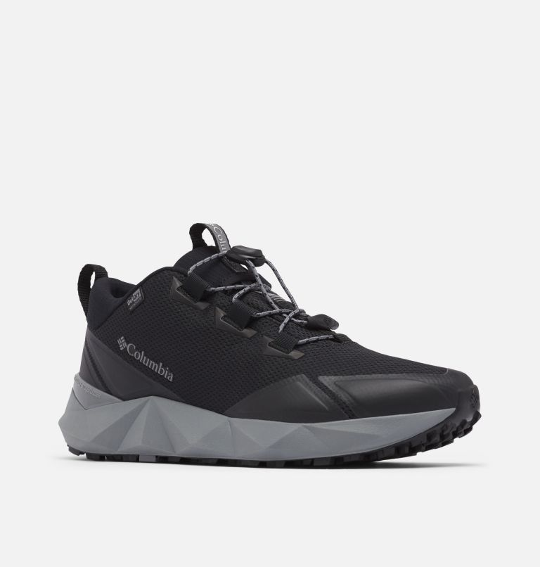 FACET™ 30 OUTDRY™ | 010 | 7 Men's Facet 30 OutDry Shoe, Black, Ti Grey Steel, 3/4 front