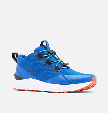Men's Facet 30 OutDry Shoe FACET™ 30 OUTDRY™ | 010 | 10, Cobalt Blue, Autumn Orange, 3/4 front