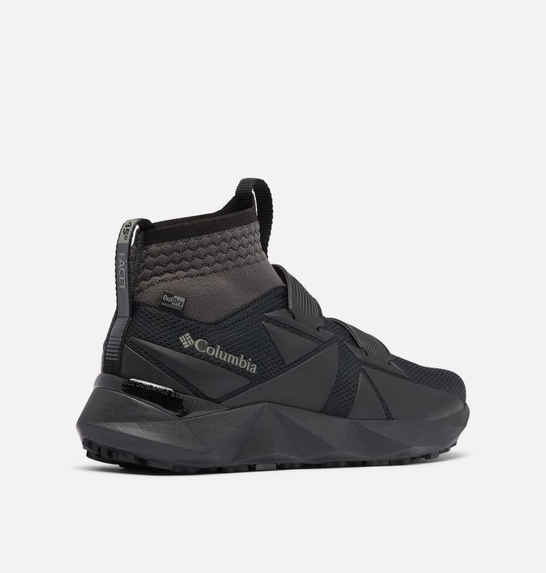 FACET™ 45 OUTDRY™ | 010 | 13 Men's Facet 45 OutDry Shoe, Black, Dark Grey, 3/4 back