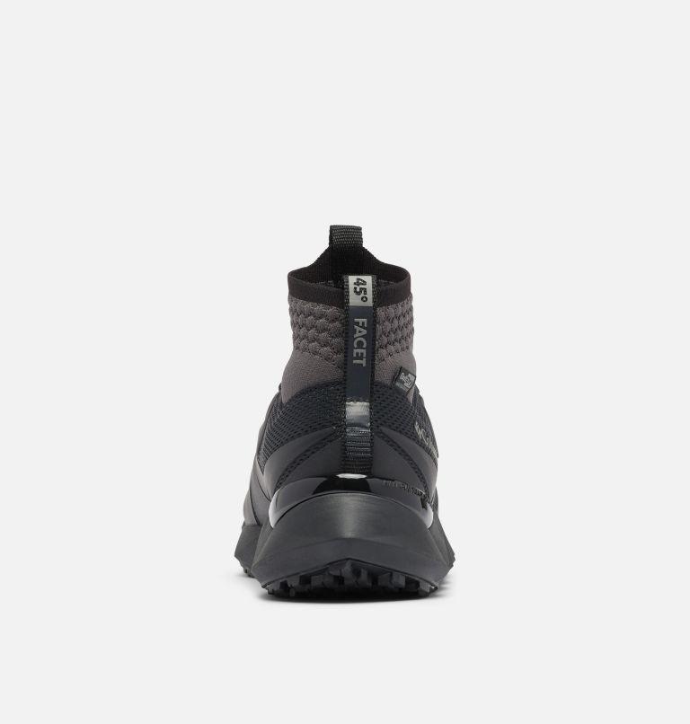 FACET™ 45 OUTDRY™ | 010 | 9 Men's Facet 45 OutDry Shoe, Black, Dark Grey, back