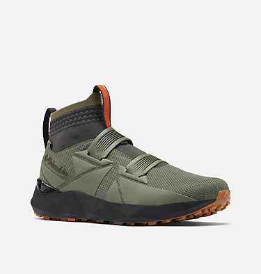 Men's Facet 45 OutDry Shoe FACET™ 45 OUTDRY™ | 397 | 10, Stone Green, Autumn Orange, 3/4 front