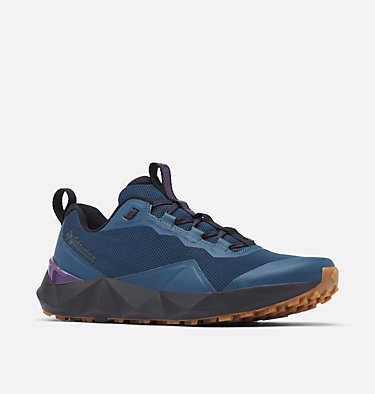 Men's Facet 15 Shoe FACET™ 15 | 010 | 10.5, Petrol Blue, Cyber Purple, 3/4 front