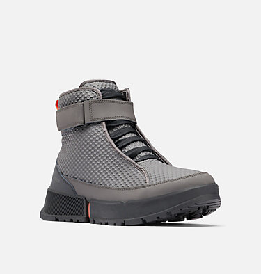 Men's Hyper-Boreal™ Omni-Heat™ Lace Boot HYPER-BOREAL™ OMNI-HEAT™ LACE | 439 | 10, Dark Grey, Tangy Orange, 3/4 front