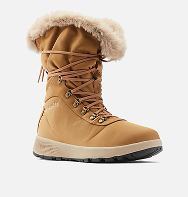 Botte Slopeside Village Omni-Heat femme SLOPESIDE VILLAGE™ OMNI-HEAT™ HI | 444 | 10, Elk, Autumn Orange, 3/4 front