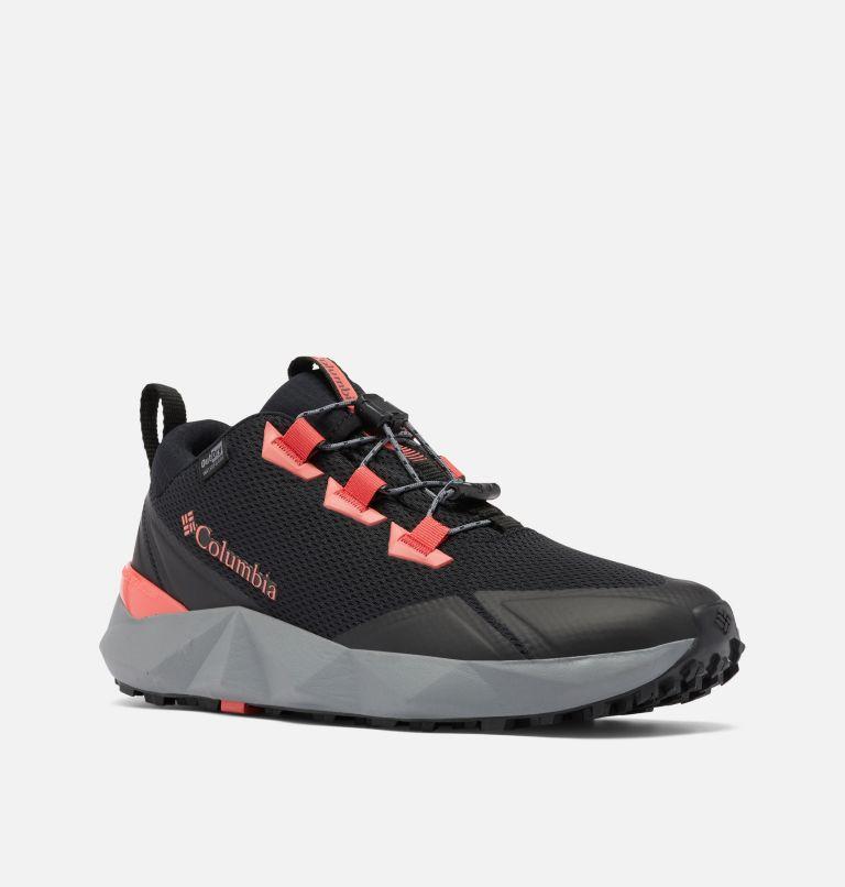 FACET™ 30 OUTDRY™   012   5 Women's Facet™ 30 OutDry™ Shoe, Black, Red Coral, 3/4 front