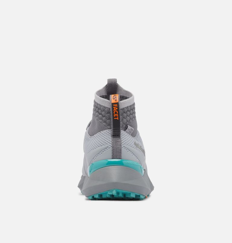 FACET™ 45 OUTDRY™ | 088 | 5.5 Chaussure Facet 45 OutDry femme, Steam, Teal, back
