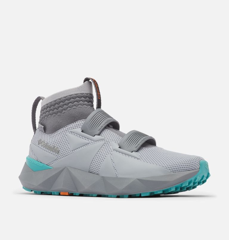 FACET™ 45 OUTDRY™ | 088 | 5.5 Chaussure Facet 45 OutDry femme, Steam, Teal, 3/4 front