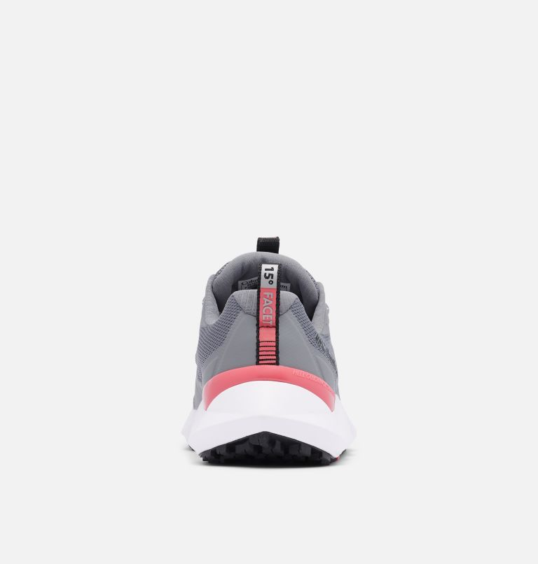 FACET™ 15 | 033 | 6.5 Chaussure Facet 15 femme, Ti Grey Steel, Rouge Pink, back