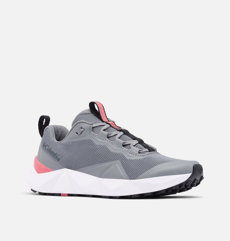 FACET™ 15 | 033 | 6.5 Chaussure Facet 15 femme, Ti Grey Steel, Rouge Pink, 3/4 front
