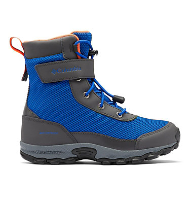 Big Kids' Hyper-Boreal™ Omni-Heat™ Waterproof Boot YOUTH HYPER-BOREAL™ OMNI-HEAT™ WP | 010 | 1, Cobalt Blue, Tangy Orange, front