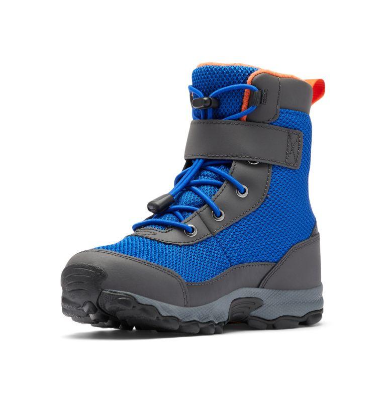 YOUTH HYPER-BOREAL™ OMNI-HEAT™ WP | 408 | 5 Big Kids' Hyper-Boreal™ Omni-Heat™ Waterproof Boot, Cobalt Blue, Tangy Orange