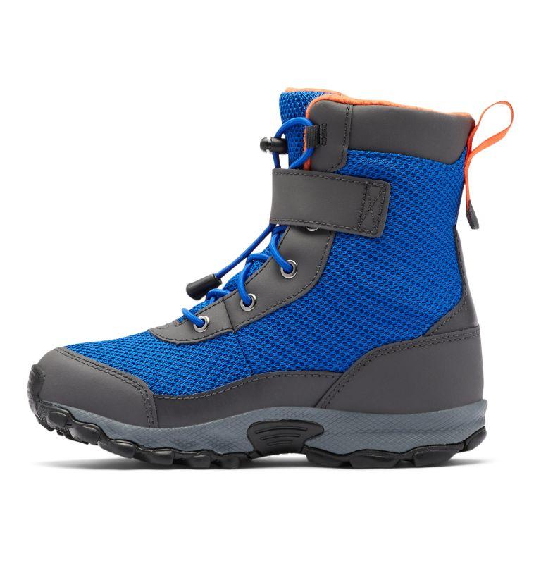 YOUTH HYPER-BOREAL™ OMNI-HEAT™ WP | 408 | 7 Big Kids' Hyper-Boreal™ Omni-Heat™ Waterproof Boot, Cobalt Blue, Tangy Orange, medial