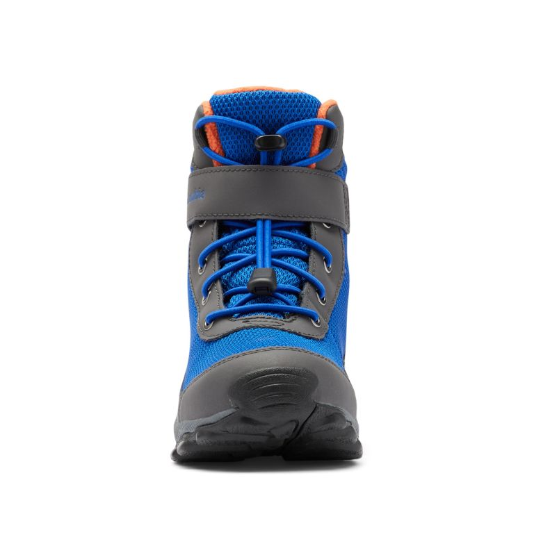 YOUTH HYPER-BOREAL™ OMNI-HEAT™ WP | 408 | 7 Big Kids' Hyper-Boreal™ Omni-Heat™ Waterproof Boot, Cobalt Blue, Tangy Orange, toe
