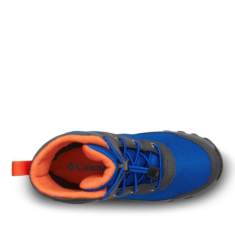 YOUTH HYPER-BOREAL™ OMNI-HEAT™ WP | 408 | 5 Big Kids' Hyper-Boreal™ Omni-Heat™ Waterproof Boot, Cobalt Blue, Tangy Orange, top