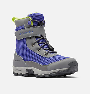 Big Kids' Hyper-Boreal™ Omni-Heat™ Waterproof Boot YOUTH HYPER-BOREAL™ OMNI-HEAT™ WP | 010 | 1, Purple Lotus, Voltage, 3/4 front