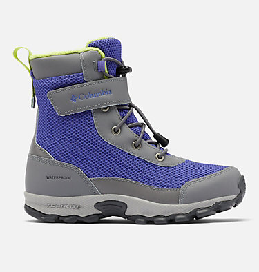 Big Kids' Hyper-Boreal™ Omni-Heat™ Waterproof Boot YOUTH HYPER-BOREAL™ OMNI-HEAT™ WP | 010 | 1, Purple Lotus, Voltage, front