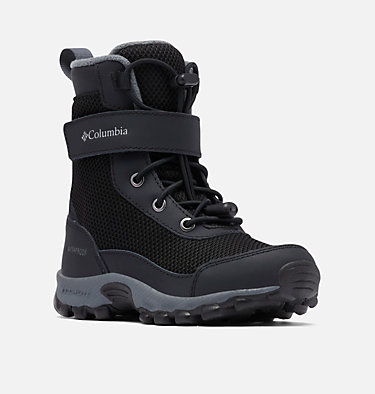 Little Kids' Hyper-Boreal™ Omni-Heat™ Waterproof Boot CHILDRENS HYPER-BOREAL™ OMNI-HEAT™ WP | 408 | 10, Black, Steam, 3/4 front