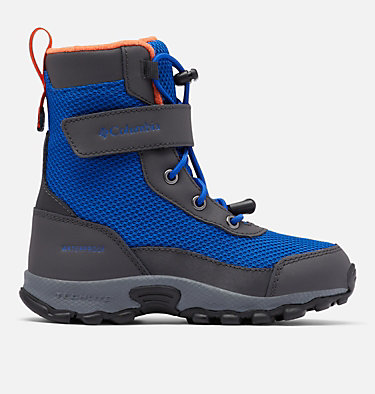 Little Kids' Hyper-Boreal™ Omni-Heat™ Waterproof Boot CHILDRENS HYPER-BOREAL™ OMNI-HEAT™ WP | 408 | 10, Cobalt Blue, Tangy Orange, front